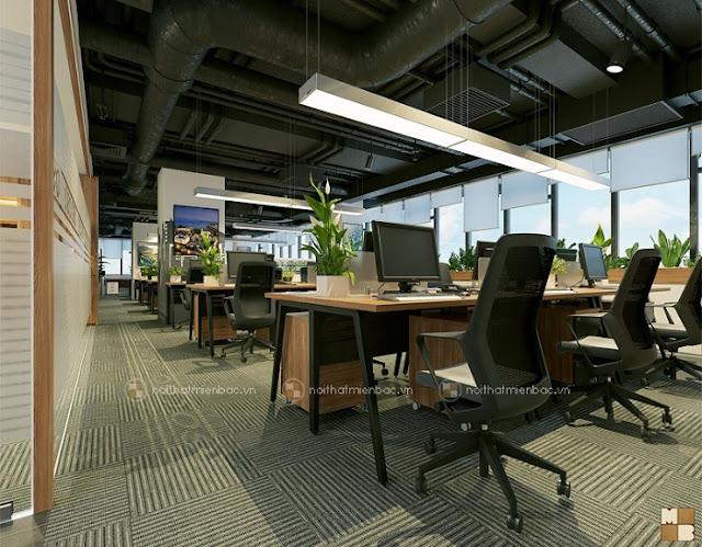 Thiết kế văn phòng chuẩn thể hiện đẳng cấp doanh nghiệp - H2