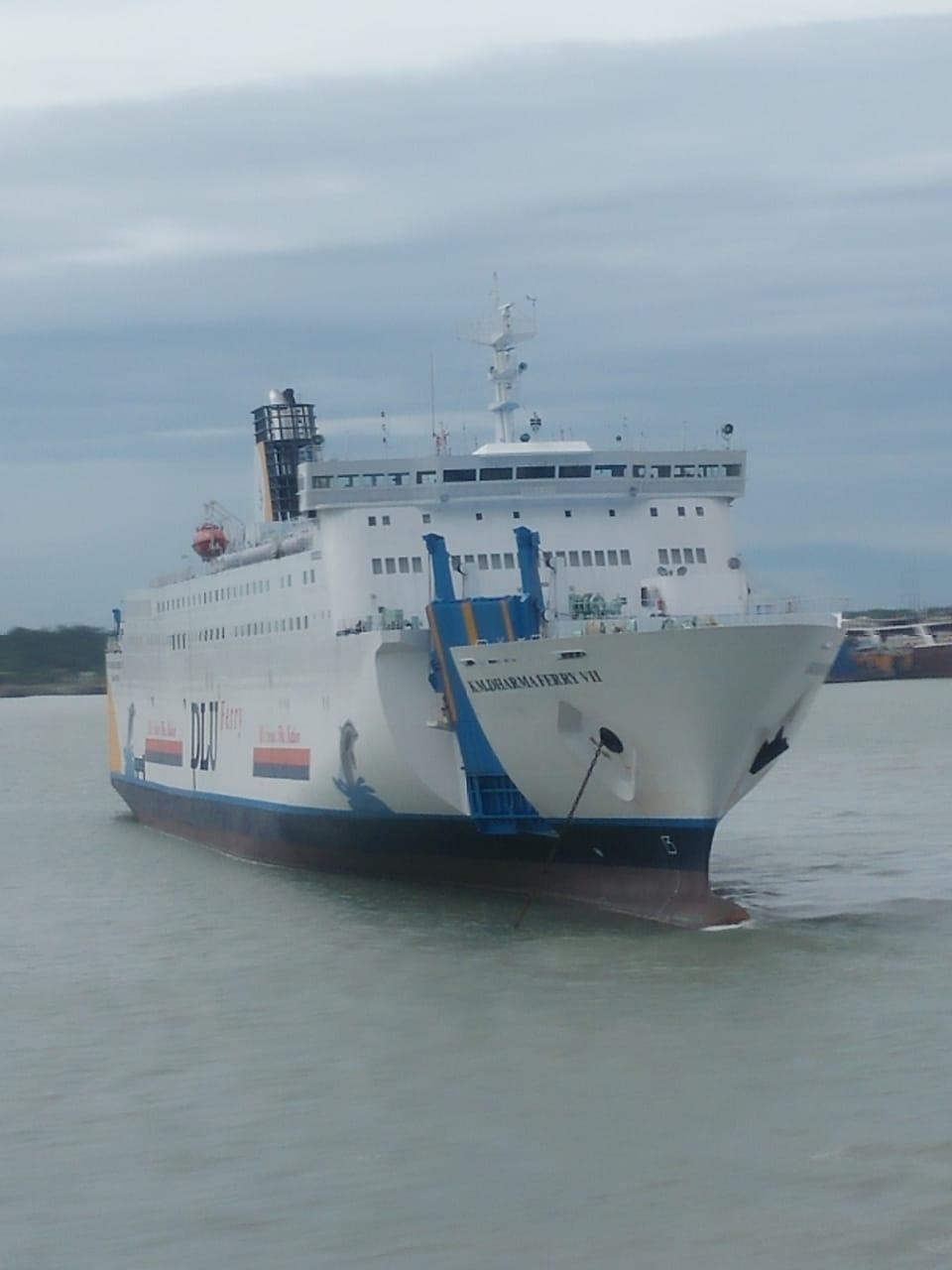 Pt Dlu Siap Mengoperasikan Kapal Baru Km Dharma Ferry Vii Bidik