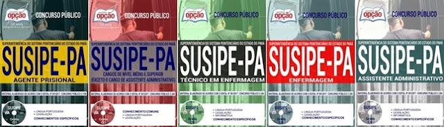 Apostila da SUSIPE Agente Prisional (Download) CD Rom Grátis