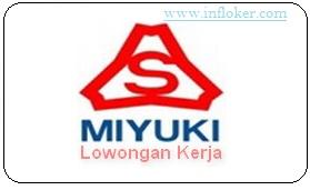 Lowongan Kerja Operator Produksi PT Miyuki Indonesia Terbaru