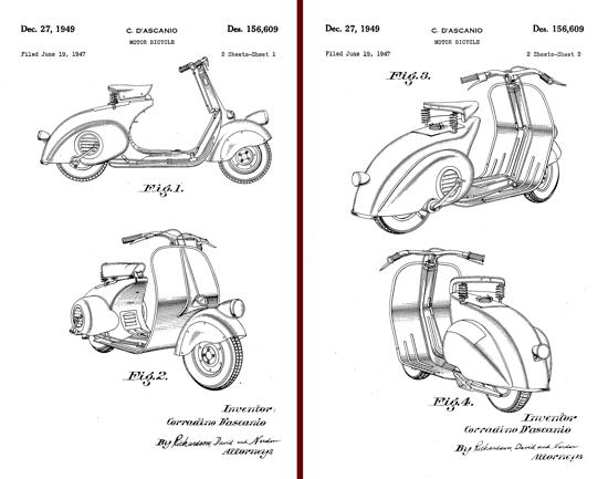 Vespa 98 patent