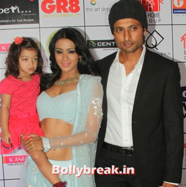 Barkha Bisht and Indraneil Sengupta, Shriya Saran, Sridevi, Tamanna at GR8 Women Awards 2014