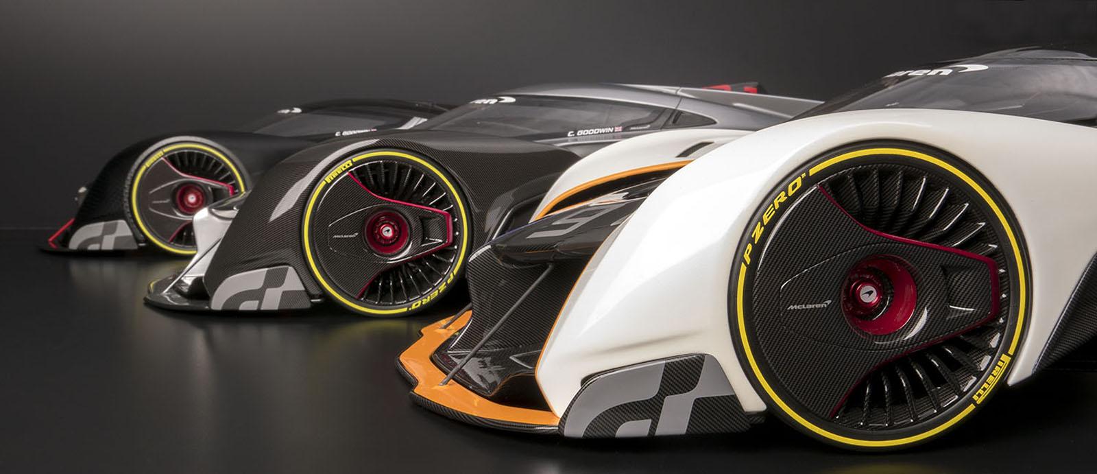 Mclaren P1 Cost >> McLaren Ultimate Vision Gran Turismo Comes To Life In 1:8 Scale