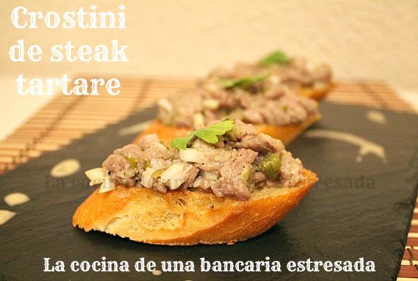 Receta steak tartare