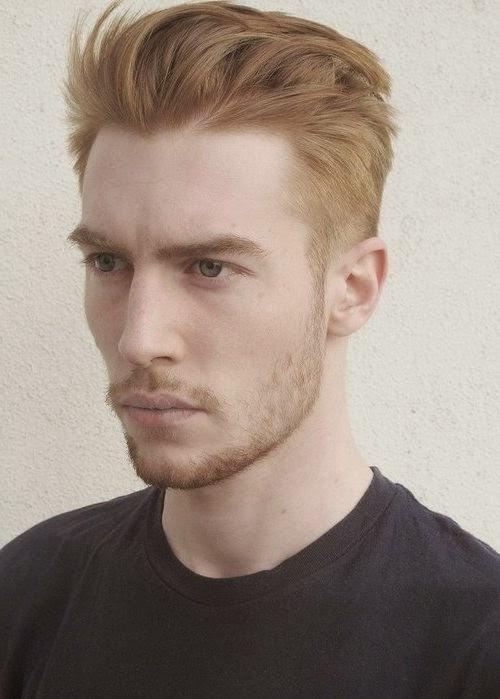 Mannerfrisuren Blond Kurz Kurzhaarfrisur