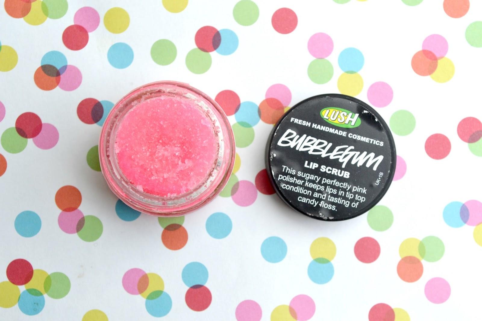 Lush: Bubblegum lip scrub