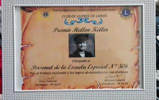 álbum de fotos Premio Hellen Keller