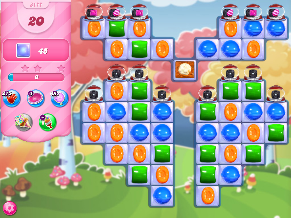 Candy Crush Saga level 3177