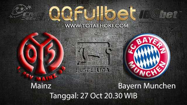 Prediksi Bola Jitu Mainz vs Bayern Munchen 27 Oktober 2018 ( German Bundesliga )