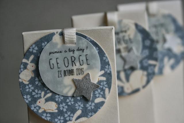 faire-part baptême chic étoile papier japonais sur mesure raffiné fait main haut de gamme cadeau invité