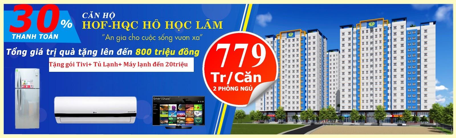 Chương trình khuyến mãi mua căn hộ Quận Bình Tân