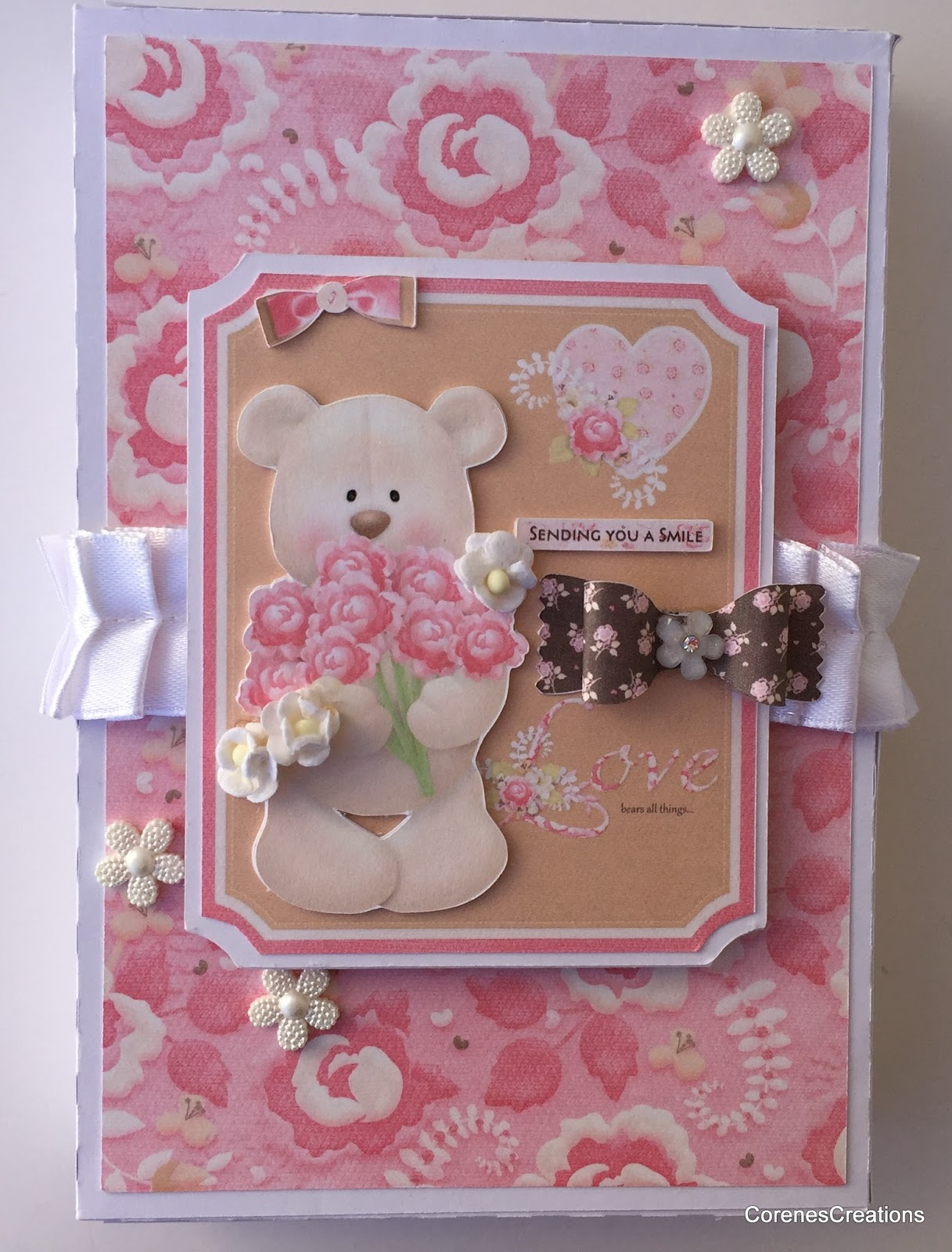 Corenescreations Sweet Greeting Cards Matching Gift Box