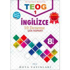 Rota Yayınları 8.Sınıf TEOG 1 İngilizce 10 Deneme (2017)