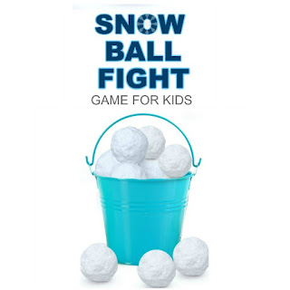 Got bored kids?  Have an indoor snowball fight!  DIY GAME FOR KIDS #wintergamesforkids #winteractivitiesforkids