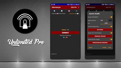 Cara Menggunakan Unlimited Pro