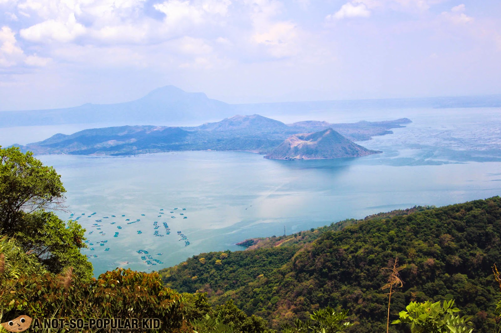 The amazing view of Taal Volcano and the Lake from RSM Lutong Bahay (Tagaytay City)