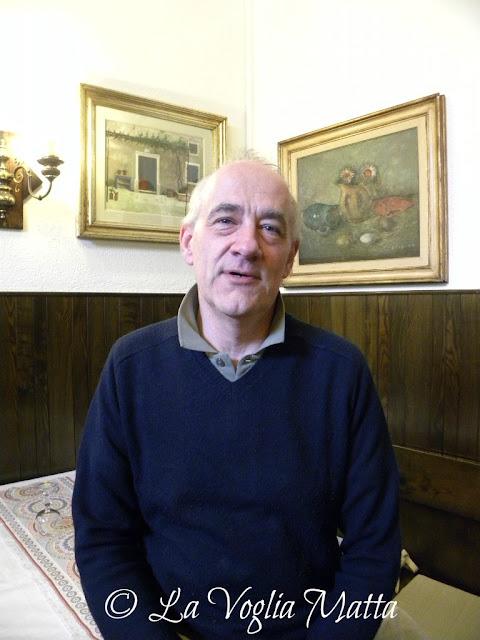 Da Baffo a Trieste il proprietario Stefano Barnabà