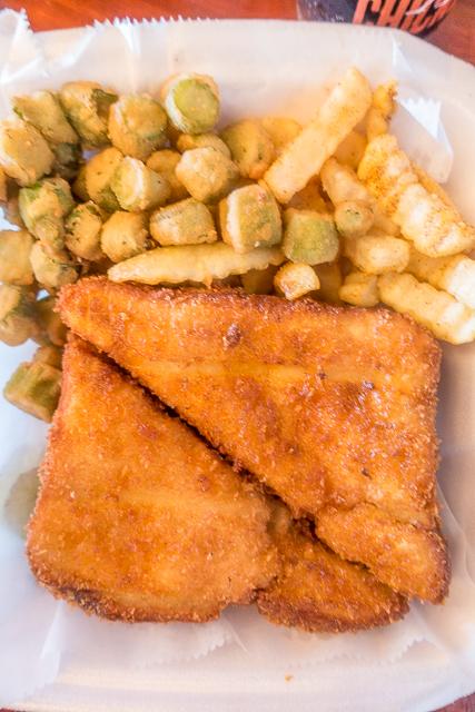 Tender Royale at Pepperfire Hot Chicken in East Nashville, TN