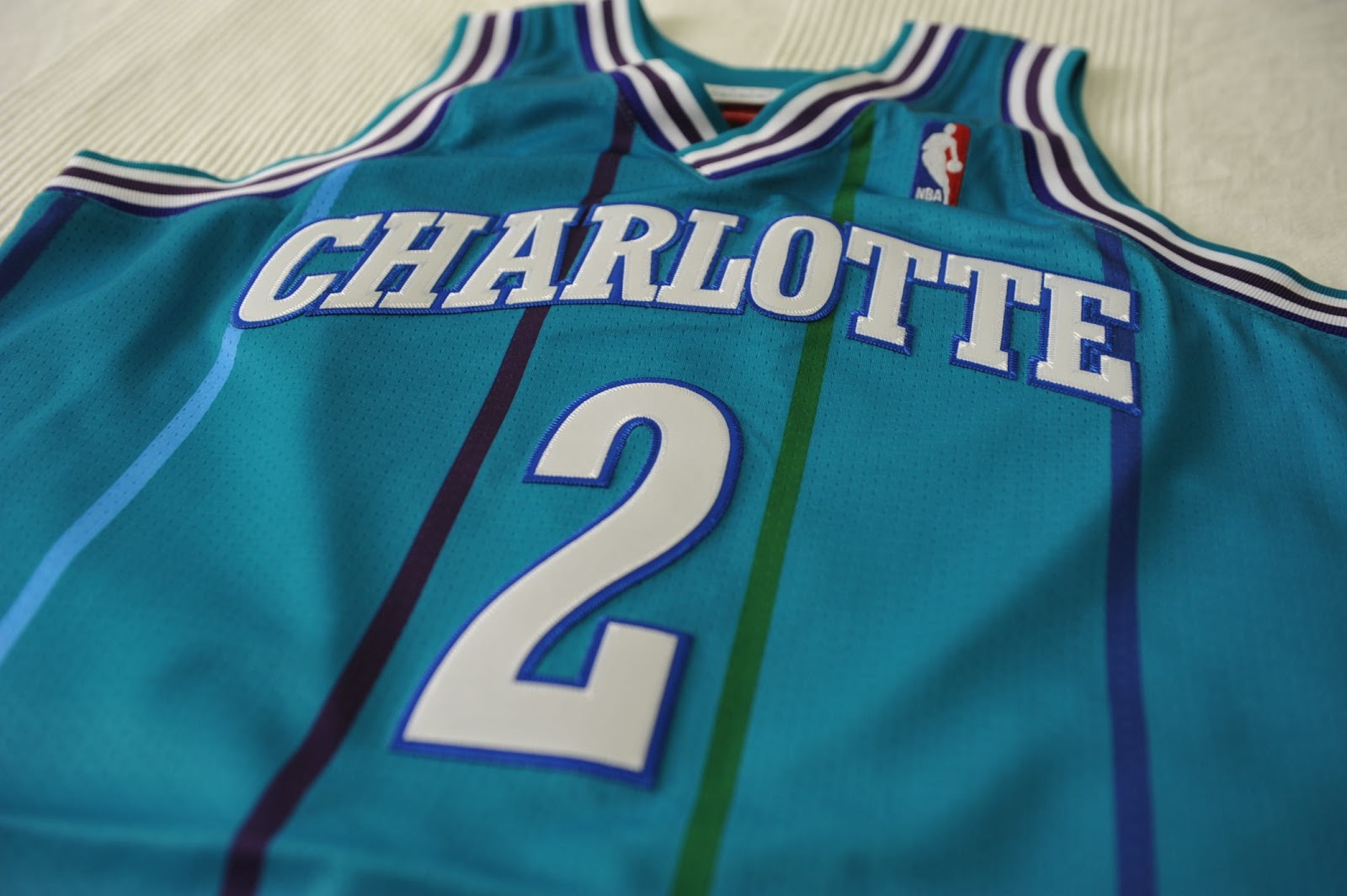 save off 2ca49 4fb1b Time is Losing: Mitchell & Ness Authentic Jersey - Larry ...