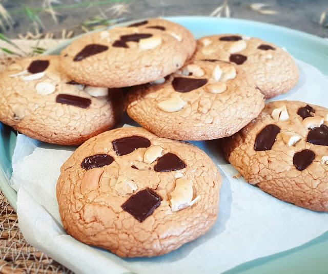 COOKIES CHOCOLAT_noix de coco_cajou (SANS GLUTEN, SANS LACTOSE, SANS SUCRE RAFFINÉ)