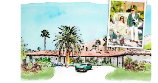 "Visit ""Villa Go Lightly"" Modernism Week Show House in Palm Springs!"