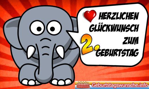 When its Geburtstag Geburtstagssprüche Zum 2 candidly turns you