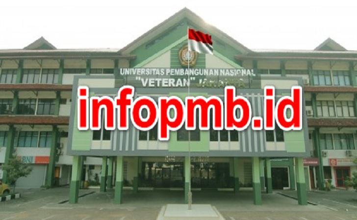 Jadwal Penerimaan Mahasiswa Baru (UPN) Universitas Pembangunan Nasional  Veteran Jakarta 2020/2021