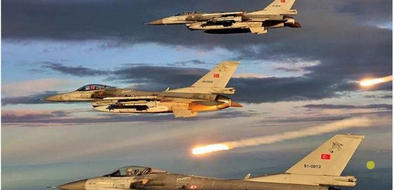 Türk savaş uçakları tarafından ihlal Edildi