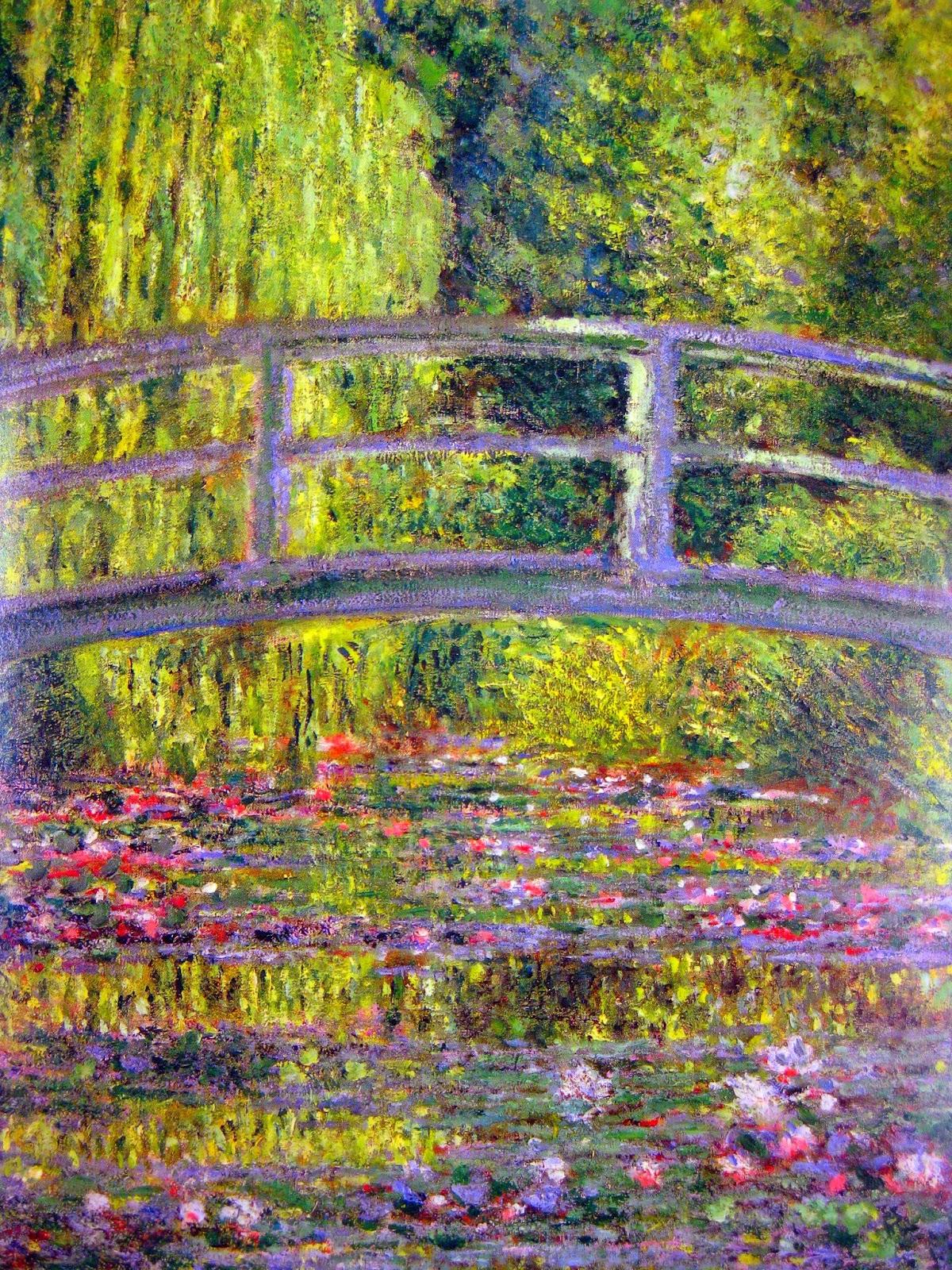 Cassie Stephens: In the Art Room: Mammoth Monet-Inspired Mural