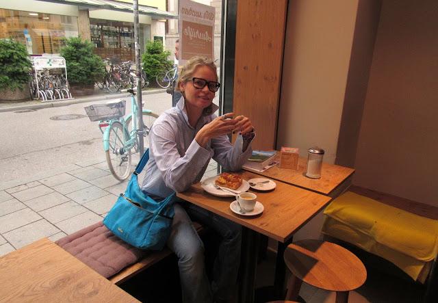 Cafeterias café doces O que comer em Munique Alemanha