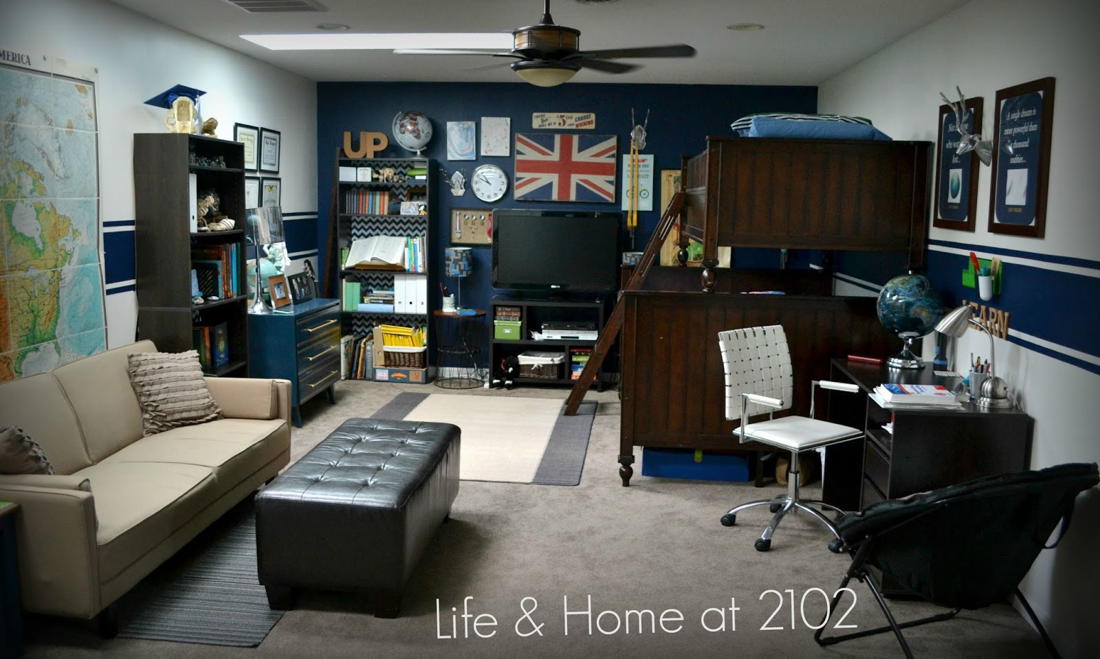 Life Amp Home At 2102 From Tween To Teen A Boy S Room Re Do