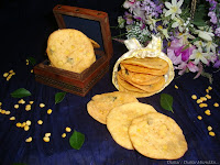 images for Thattai Recipe / Thattai Murukku Recipe / Chekkalu Recipe / Pappu Chekkalu Recipe / Rice Crackers Recipe
