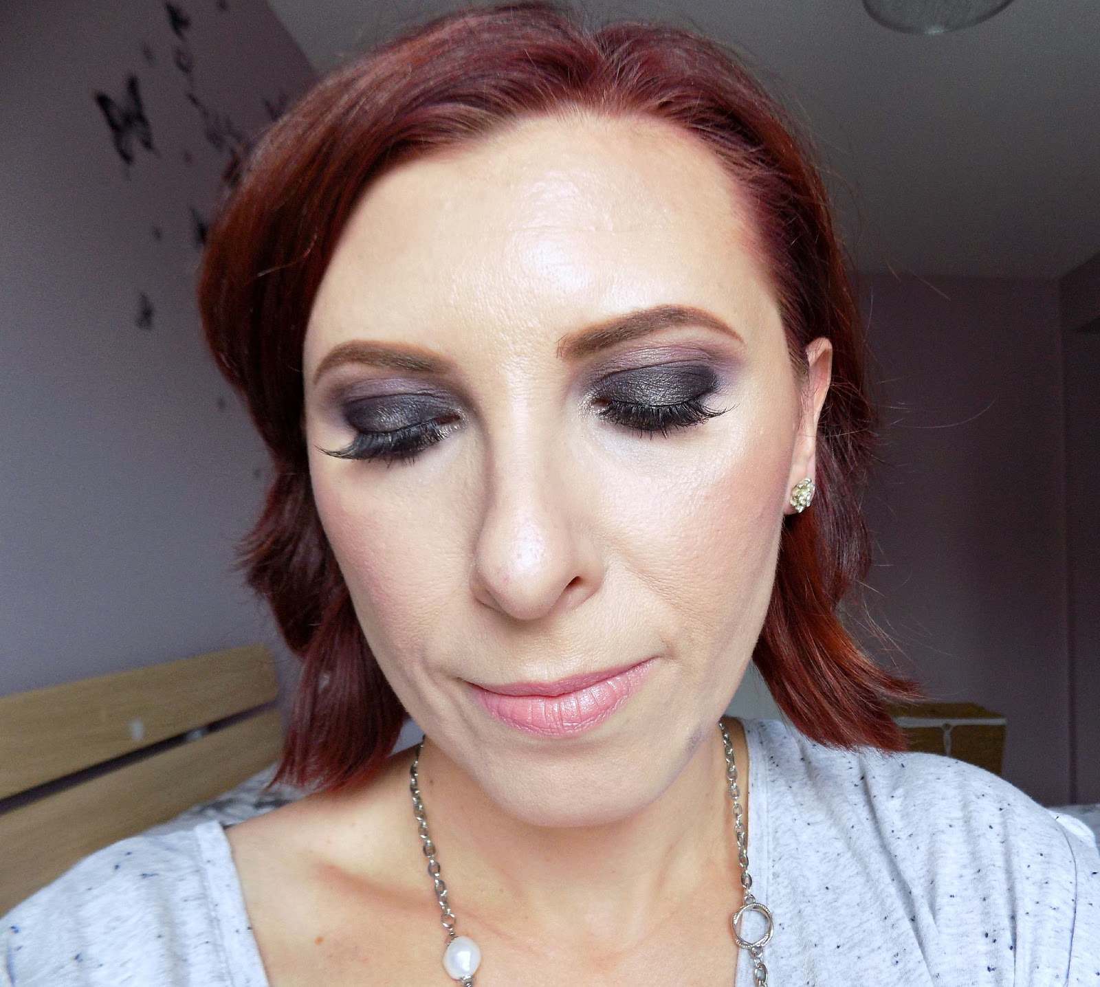 Zoeva Smokey palette makeup look
