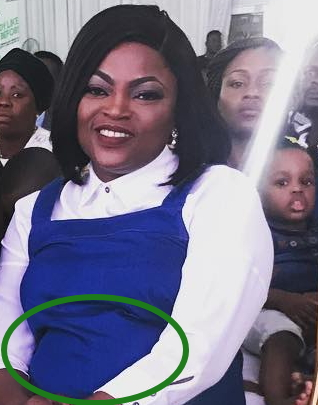 funke akindele confirms pregnancy news