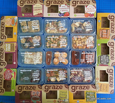 Graze 'Good To Go' instore Snack Range Review