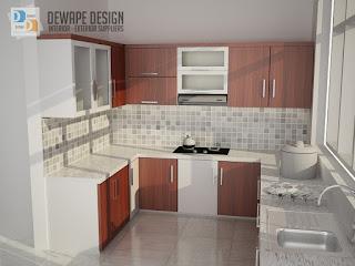 kitchen set minimalis harga murah malang