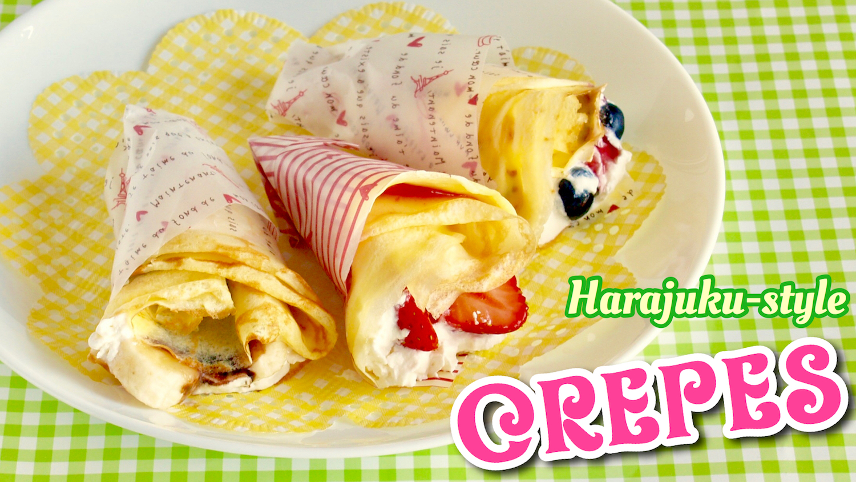Crepe Food Recipe