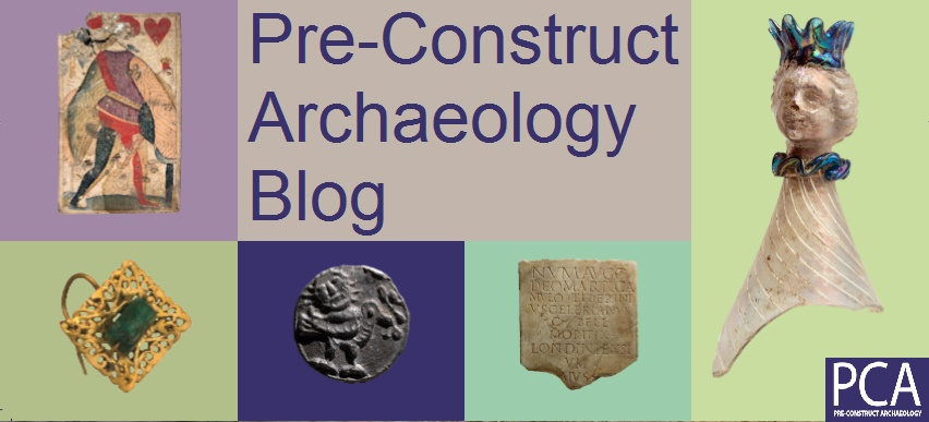 Pre-Construct Archaeology Blog