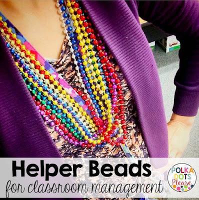 Helper Beads for Classroom Management