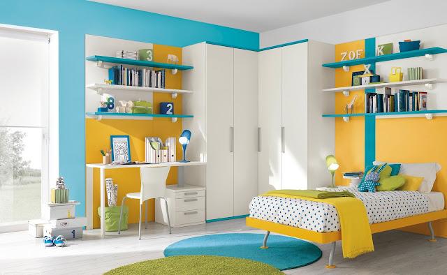 couleur peinture chambre adolescent