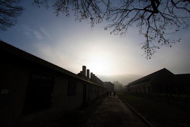 Capannone-Campo di concentramento di Auschwitz