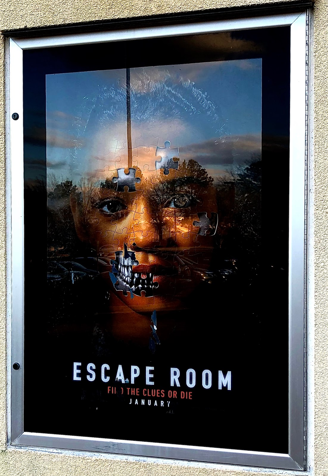Blue Skies For Me Please Escape Room Movie Review January 2019