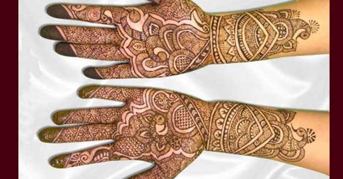 Mehndi For Gangaur : Rajasthani mehndi designs gangaur festival