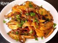 चिली पोटेटो बनाने की विधि - Chilli Potato Recipe in Hindi