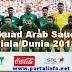 Skuad pemain Arab saudi Piala Dunia 2018