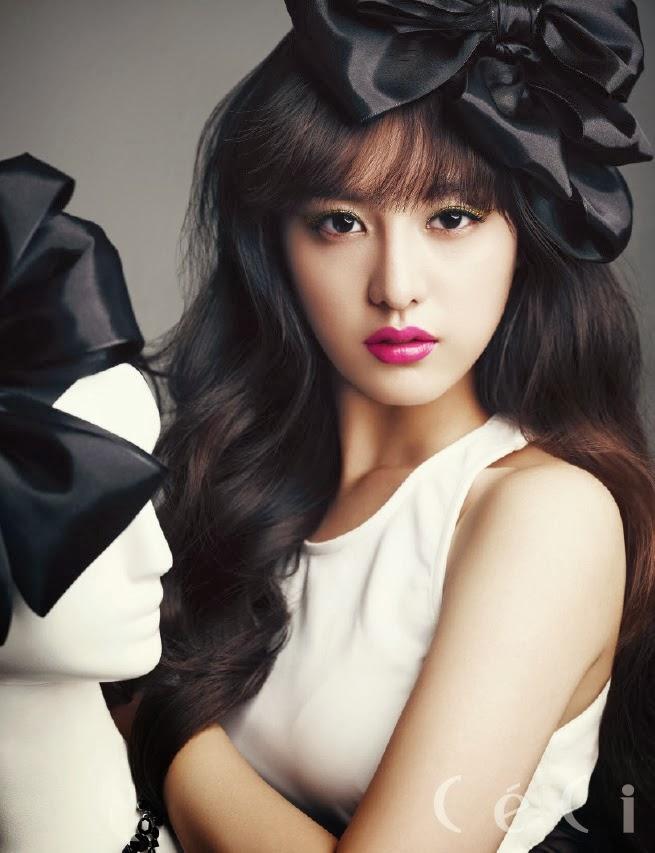 Kim Ji Won Magazine Photoshoot For Ceci Korea Magazine ...