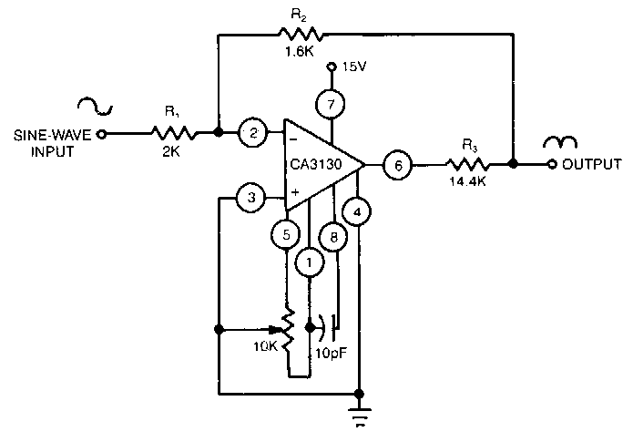 Diode-less Precision Rectifier Circuit Diagram