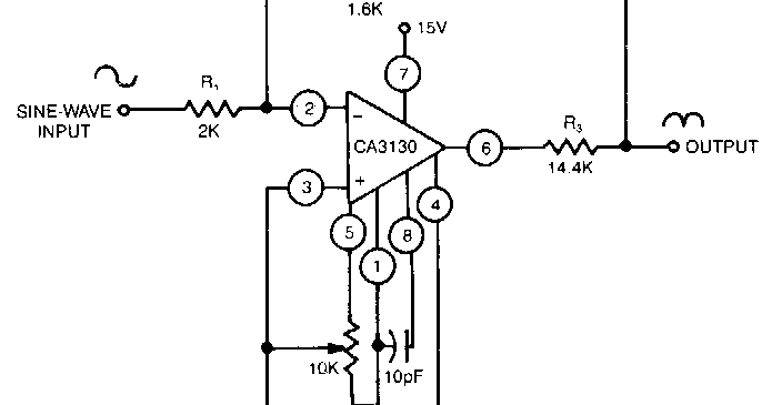 Circuit Wiring Solution: Diode less Precision Rectifier