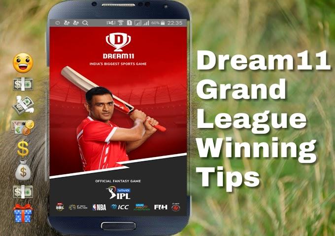 Dream11 Grand League Winning Tips