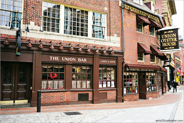 Restaurante Union Oyster House en Boston